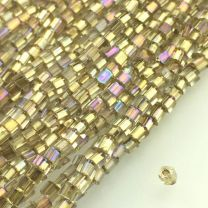 Gold_Lined_Crystal_AB_100_15MM_Sqare_Cut_Cube_Bead