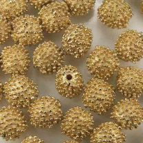 Gold Plate 10MM Knobbed Ball