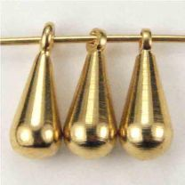 Gold Plate 10x4 Solid Tear 3-D