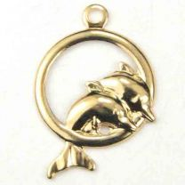 Gold_Plate_12MM_Dolphins_In_Ho
