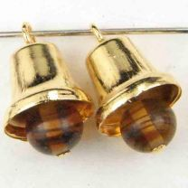 Gold_Plate_12x10MM_Bell_With_6MM_Tortoise_Glass_Clapper
