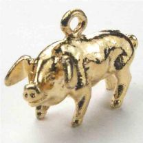 Gold_Plate_12x22_Boar_Chinese_