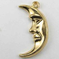 Gold Plate 24x12 Crescent Moon