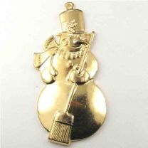 Gold_Plate_35x17_Snowman_Stamp