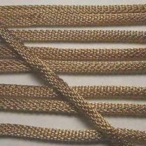 Gold Plate 42 Inch Mesh Rope
