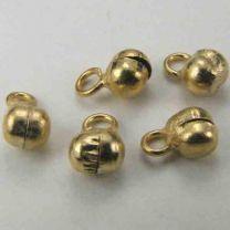 Gold Plate 5MM Bell Claperless