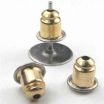 Gold_Plate_5MM_Nut_Earring_Back_With_Surgical_Steel_End_