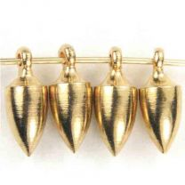 Gold Plate 8x4MM Solid Plumb