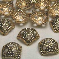 Gold_Plate_Bead_Cap_Squared_Textured_fits_8mm_beads