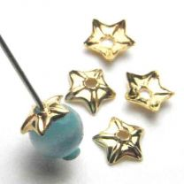 Gold_Plate_Cap_4MM_Star_Shaped