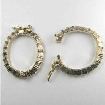 Gold Rayed Necklace Shortener