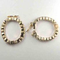 Gold Ruffle Necklace Shortener