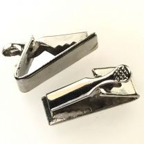 Gold Tie Clip 19X6MM Rectangle
