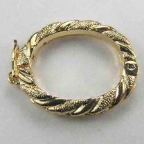 Gold Twist Necklace Shortener