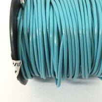 Green Turquoise 1MM Leather Cord