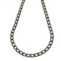 Gunmetal Plate 5x3MM Curb Chain