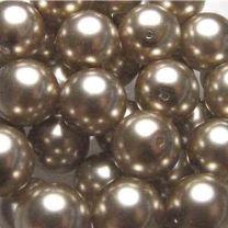 Light Brown 12MM Pearl Ball