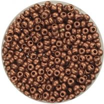 Matte Copper 110 Seed Bead