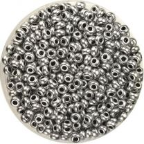 Matte Silver 110 Seed Bead