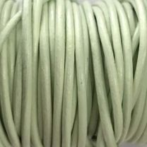 Mint 2MM Leather Cord