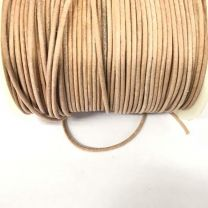 Natural 15MM Leather Cord