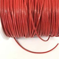 Red 15MM Leather Cord