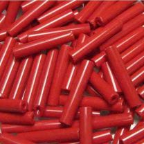 Red Bugle 18x4MM Opaque