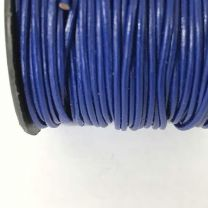 Royal Blue 15MM Leather Cord