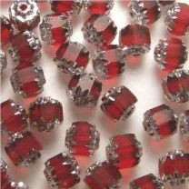 Ruby_6MM_Cathedral_Bead_with_Silver_Ends