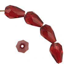Ruby Fire Polish Tear 10x7MM