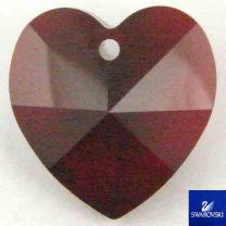 Ruby_Siam_14MM_Swarovski_Heart_Pendant
