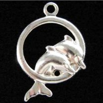 Silver_Plate_12MM_Dolphins_In_