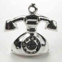 Silver Plate 18x14 Phone 3-D