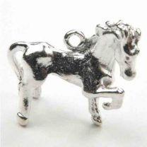 Silver_Plate_21MM_Horse_Pendan
