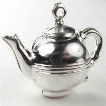 Silver Plate 21x14 Teapot 3-D