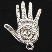 Silver Plate 26x21MM Majestic Star Hand