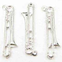 Silver Plate 26x8 Trombone
