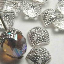 Silver_Plate_Bead_Cap_Squared_Textured_fits_8mm_beads
