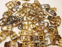 Small Antiqued Art Deco Buckle
