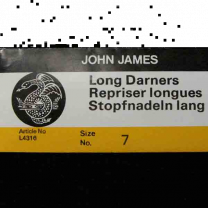 Sz 7 Needle Long Darner