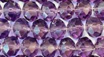 Tanzanite 8x6MM Faceted Rondelle