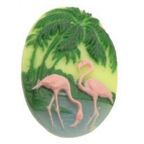 Vintage_25x18MM_Flamingo_Resin