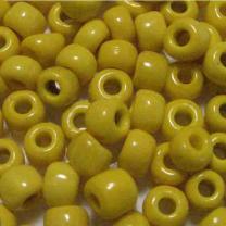 Yellow_7MM_Czech_Crow_Bead