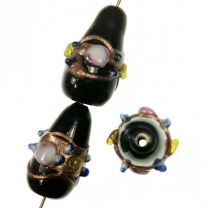 _Jet_22x12MM_Decorated_Lampwor